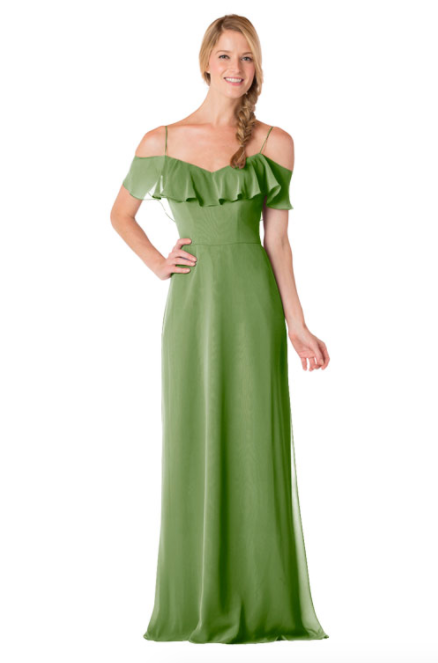 Bari Jay Bridesmaid Dress - 1730-Forest