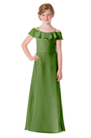 Bari Jay Junior Bridesmaid Dress - 1730(JR)-Forest