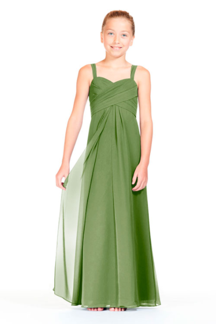 Bari Jay Junior Bridesmaid Dress 1803 (JR)-Forest