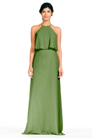 Bari Jay Bridesmaid Dress 1801-Forest