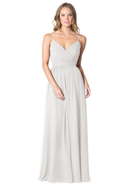 Bari Jay Bridesmaid Dress - 1606 BC-Ivory
