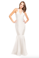 Bari Jay Bridesmaid Dress - 2009 Ivory