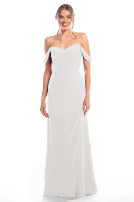 Bari Jay Bridesmaid Dress 2080 - Ivory