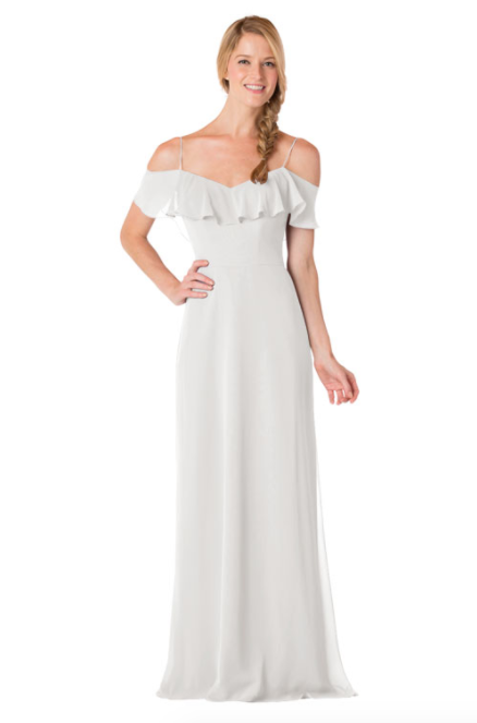 Bari Jay Bridesmaid Dress - 1730-Ivory