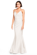 Bari Jay Bridesmaid Dress 2000 -Ivory