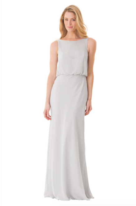 Bari Jay Bridesmaid Dress - 1661-Ivory