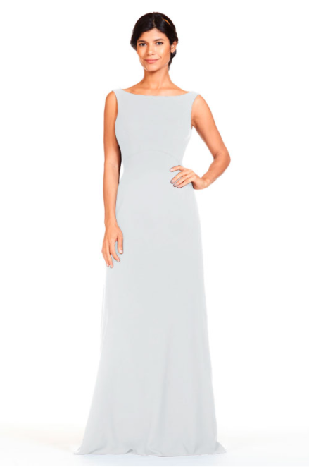 Bari Jay Bridesmaid Dress 1818 -Ivory