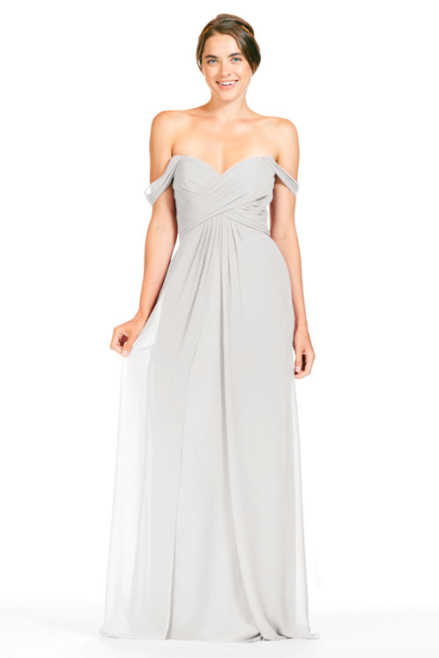 Bari Jay Bridesmaid Dress 1803 - Ivory