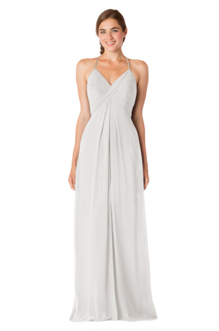 Bari Jay Bridesmaid Dress - 1723 BC-Ivory_