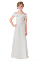 Bari Jay Junior Bridesmaid Dress - 1730(JR)-Ivory