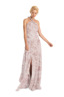 Blush Joanna August Print Long Bridesmaid Dress Bella