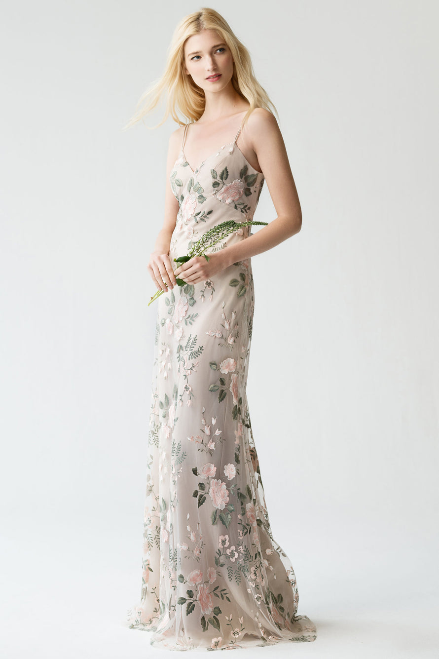 Jenny Yoo Long Bridesmaid Dress Julianna