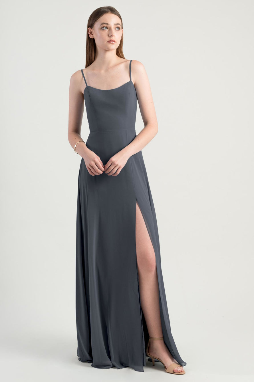 Jenny Yoo Long Bridesmaid Dress Kiara