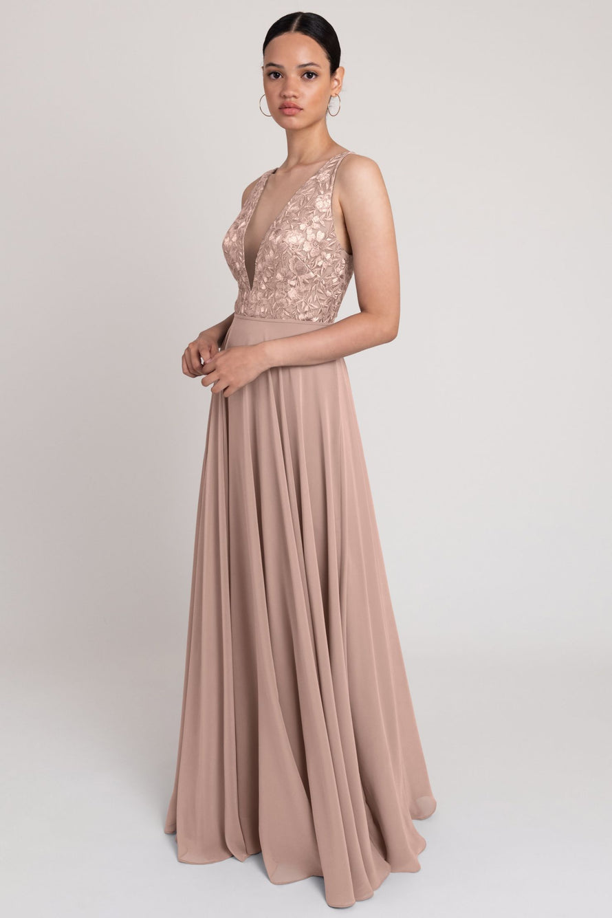 Kinsley_whipped_apricotJenny Yoo Bridesmaid Dress Kinsley whipped_apricot