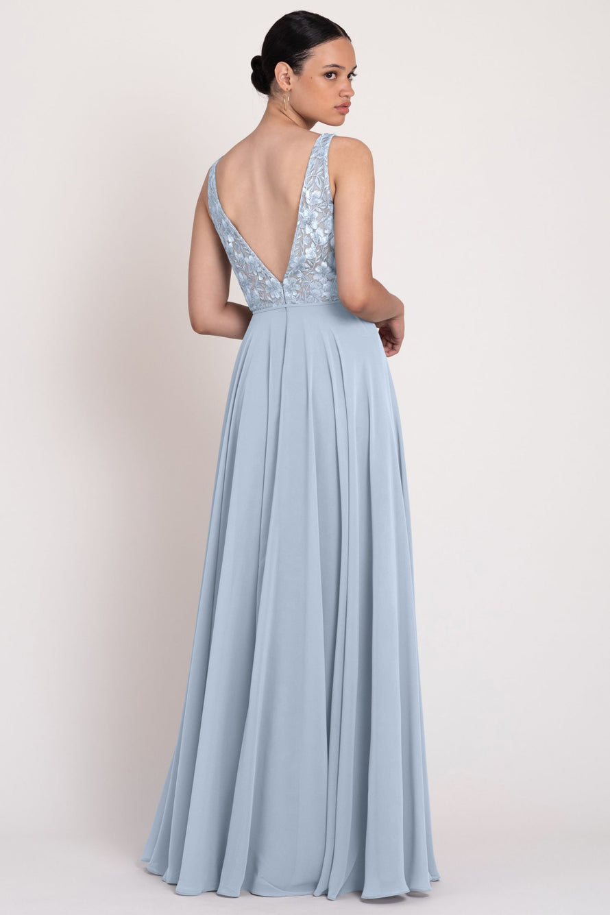Jenny Yoo Long Bridesmaid Dress Kinsley