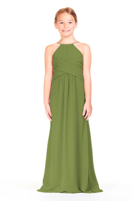 Bari Jay IC Junior Bridesmaid Dress - 1806 IC (JR)-Kiwi