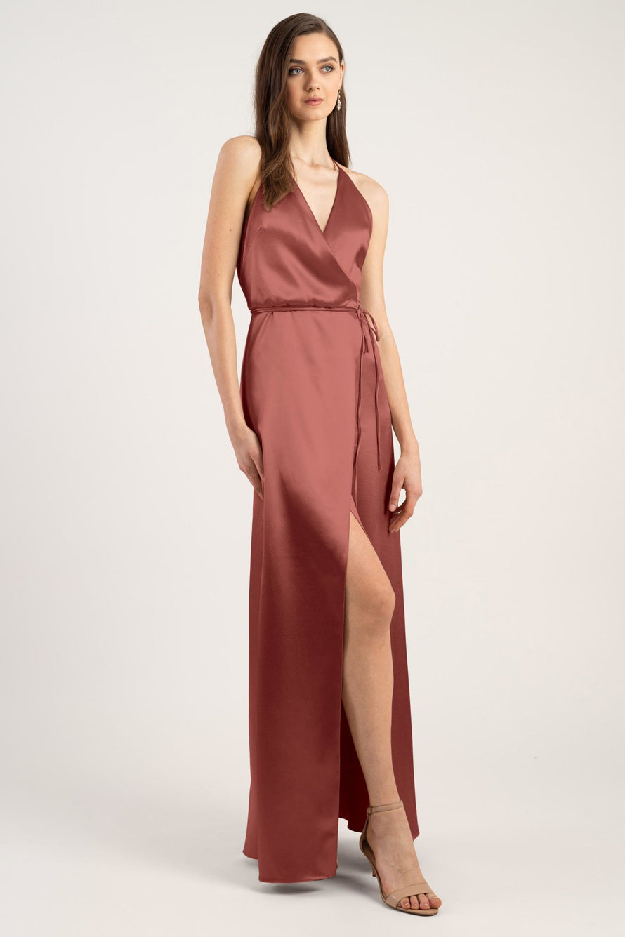 Jenny Yoo Long Bridesmaid Dress Lana