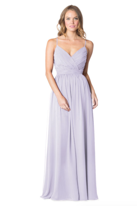 Bari Jay Bridesmaid Dress - 1606 BC-Lavender