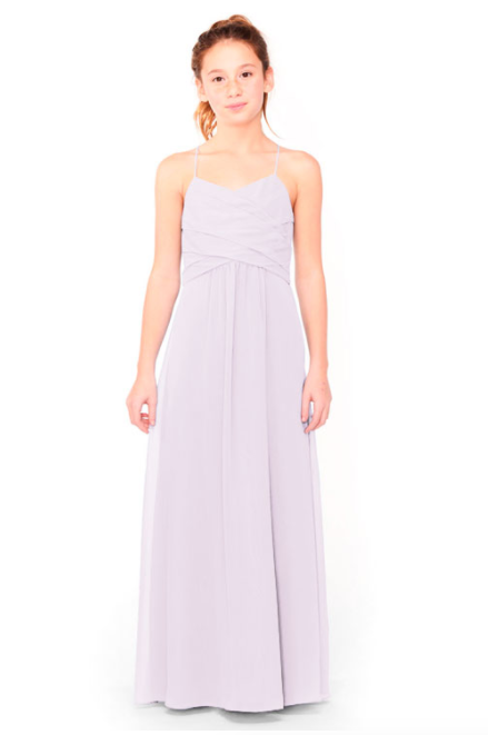 Bari Jay Junior Bridesmaid Dress 1962 - Lavender