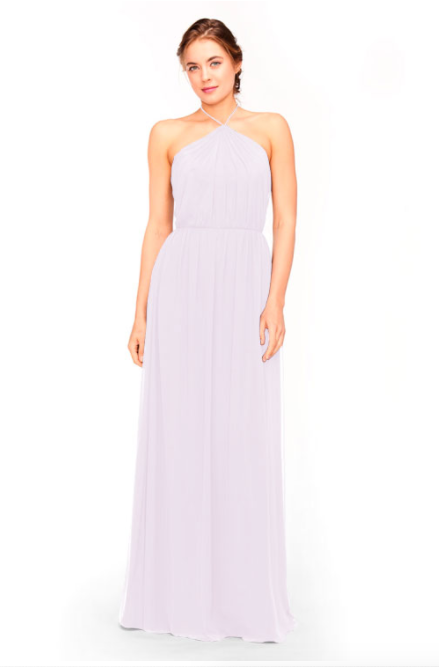 Bari Jay Bridesmaid Dress 1969 - Lavender