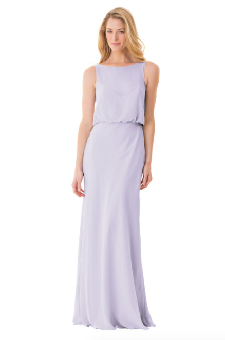 Bari Jay Bridesmaid Dress - 1661-Lavender