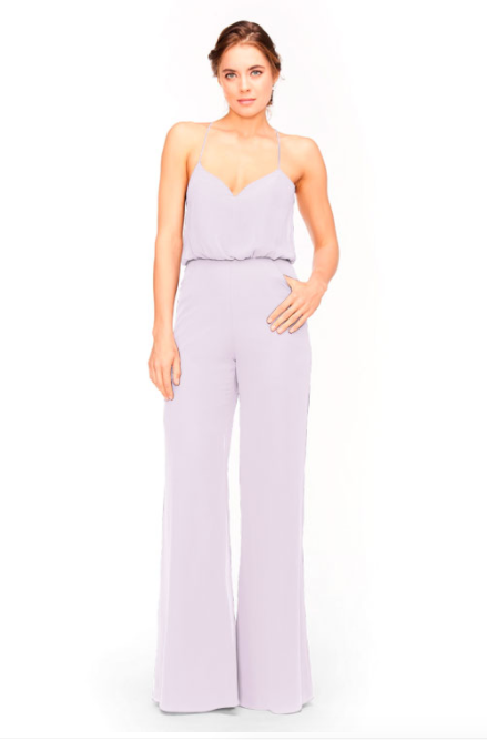 Bari Jay Jumpsuit Bridesmaid Dress 1964 - Lavender