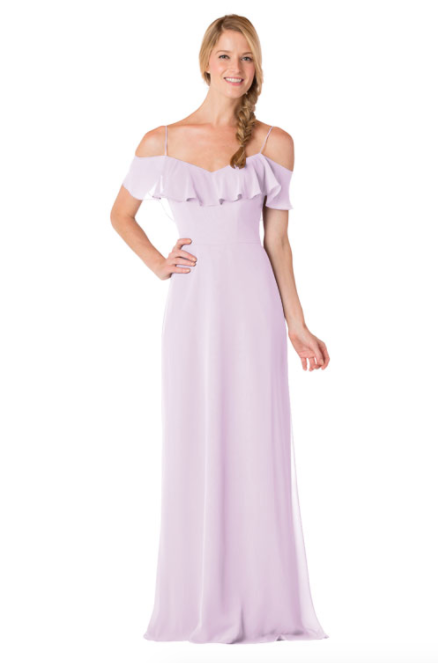 Bari Jay Bridesmaid Dress - 1730-Lavender