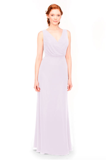 Bari Jay Bridesmaid Dress 1970 -Lavender