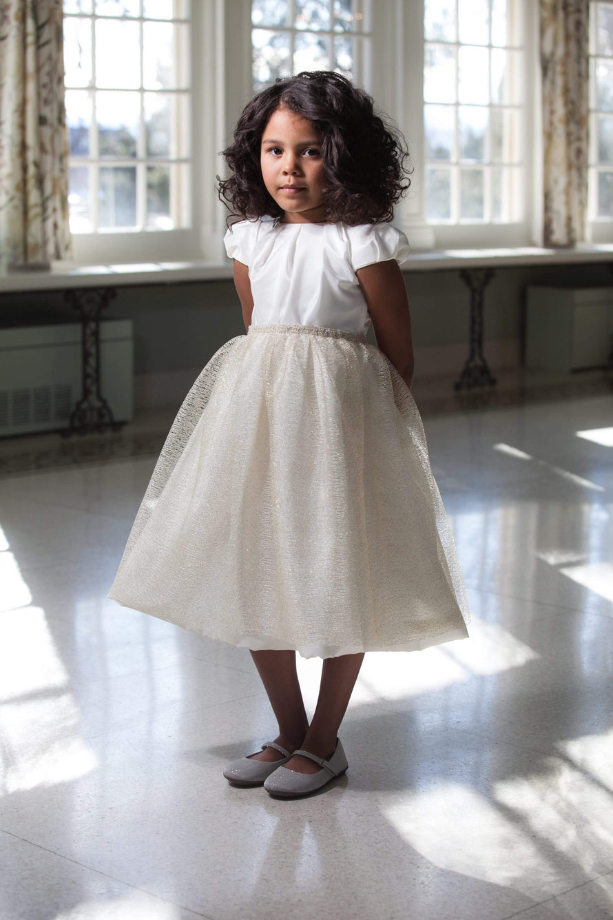 Lille Couture Flower Girl Dress Noel Skirt