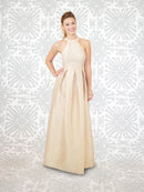 LulaKate Bridesmaid Dress Abby - Dahlia Long