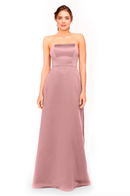 Bari Jay Bridesmaid Dress 1975 - Mauve