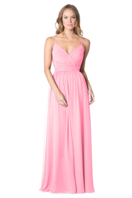 Bari Jay Bridesmaid Dress - 1606 IC-Melon