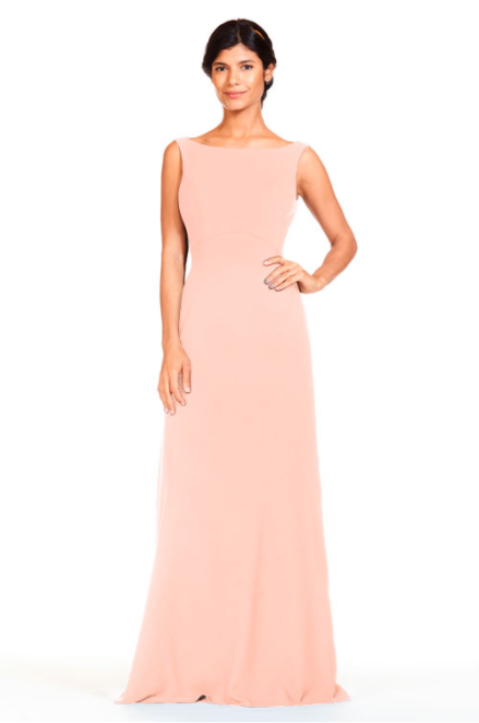 Bari Jay Bridesmaid Dress 1818 -Melon