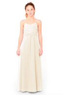 Bari Jay Junior Bridesmaid Dress 1962 - MetallicChiffon-GoldMist