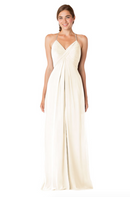 Bari Jay Bridesmaid Dress - 1723 BC-MetallicChiffon-GoldMist