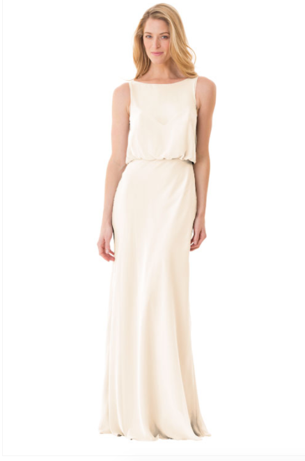 Bari Jay Bridesmaid Dress - 1661-MetallicChiffon-GoldMist