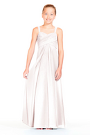 Bari Jay Junior Bridesmaid Dress 1803 (JR)-MetallicChiffon-RoseGold