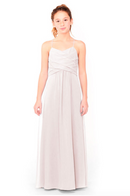 Bari Jay Junior Bridesmaid Dress 1962 - MetallicChiffon-RoseGold