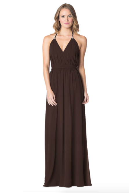 Mink-Bari Jay Bridesmaid Dress - 1600