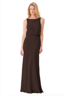 Bari Jay Bridesmaid Dress - 1661-Mink