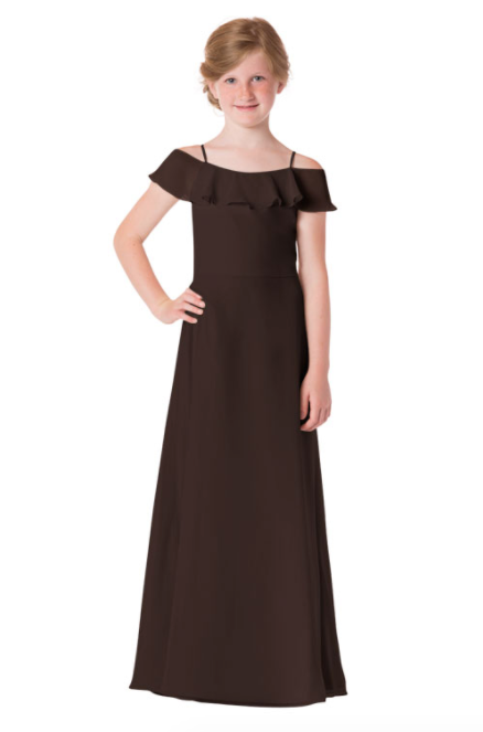 Bari Jay Junior Bridesmaid Dress - 1730(JR)-Mink