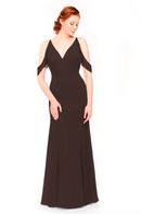 Bari Jay Bridesmaid Dress 1972 - Mink
