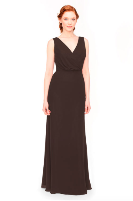 Bari Jay Bridesmaid Dress 1970 -Mink
