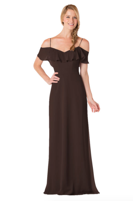 Bari Jay Bridesmaid Dress - 1730-Mink