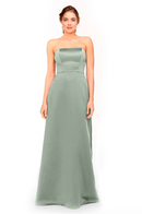 Bari Jay Bridesmaid Dress 1975 - MistyBlue