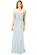 Bari Jay Bridesmaid Dress 1870 -Mistyblue