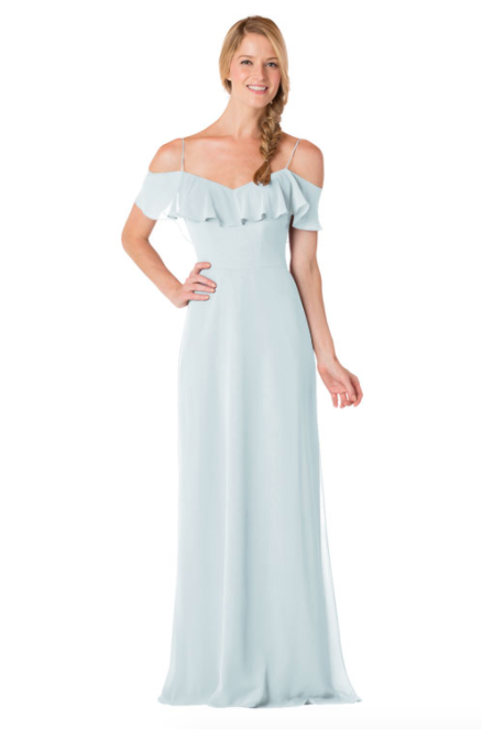 Bari Jay Bridesmaid Dress - 1730-Mistyblue