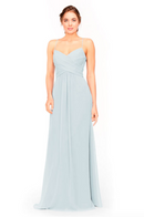 Bari Jay Bridesmaid Dress 1962 -Mistyblue