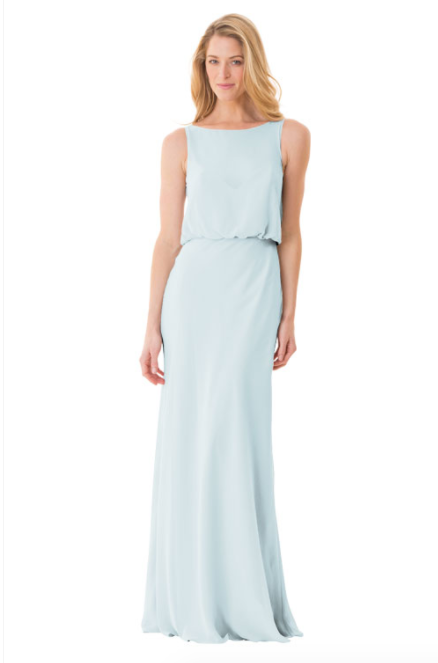 Bari Jay Bridesmaid Dress - 1661-Mistyblue