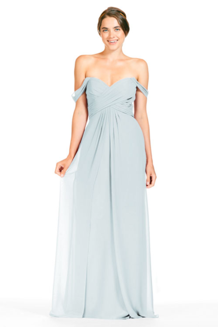 Bari Jay Bridesmaid Dress 1803 - Mistyblue